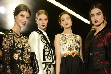 DOLCE & GABBANA SPRING 2015 RTW COLLECTION