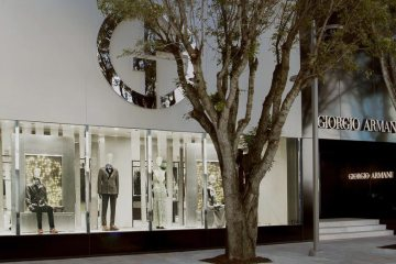 GIORGIO ARMANI NEW BOUTIQUE IN MIAMI