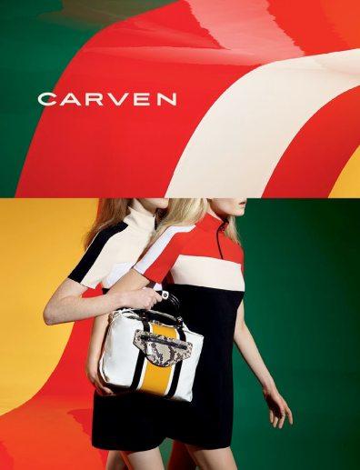 CARVEN SPRING 2015 AD CAMPAIGN 3