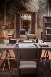 A view of the Bottega Veneta Home store in Milan.