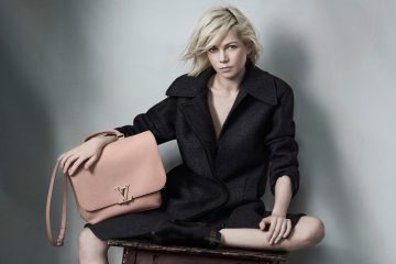 LOUIS VUITTON CAPUCINES HANDBAG CAMPAIGN FEATURING MICHELLE WILLIAMS