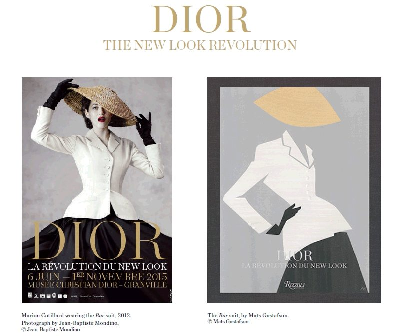 CHRISTIAN DIOR 'DIOR, THE NEW LOOK REVOLUTION' EXHIBIT 1
