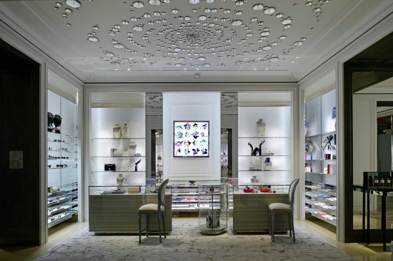 CHRISTIAN DIOR FIRST CANADIAN BOUTIQUE IN VANCOUVER