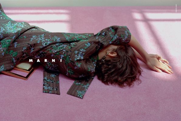 MARNI FIRST AD CAMPAIGN FOR FALL 2015