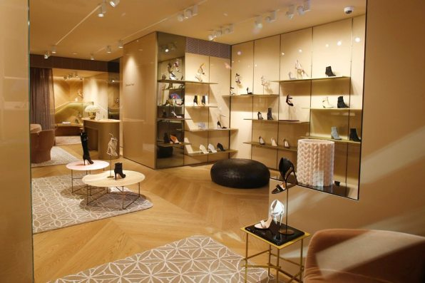 GIANVITO ROSSI FIRST AMERICAN BOUTIQUE IN NEW YORK