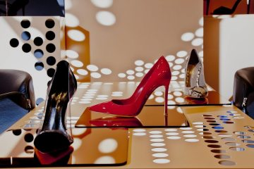 GIANVITO ROSSI FIRST AMERICAN BOUTIQUE IN NEW YORK1