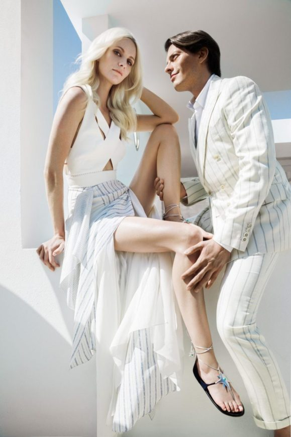AQUAZZURA X POPPY DELEVINGNE COLLECTION
