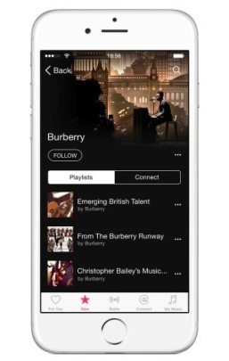 BURBERRY APPLE MUSIC CHANNEL