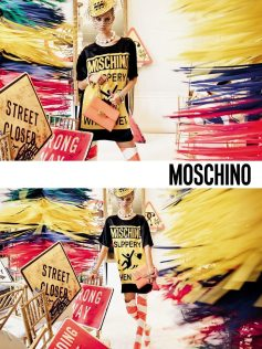 MOSCHINO SPRING 2016 AD CAMPAIGN