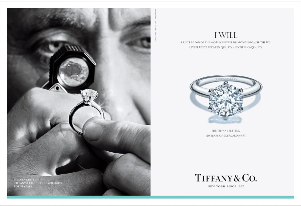 TIFFANY & CO. 'I WILL' AD CAMPAIGN