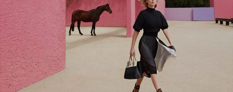 LOUIS VUITTON PRE-FALL 2016 AD CAMPAIGN FEATURING LEA SEYDOUX
