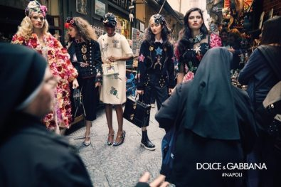 DOLCE & GABBANA FALL 2016 AD CAMPAIGN