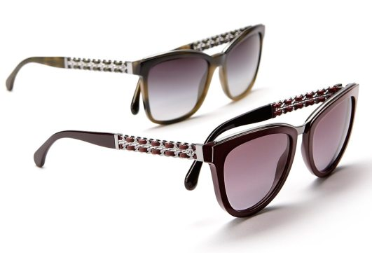 CHANEL COCO CHAIN EYEWEAR COLLECTION