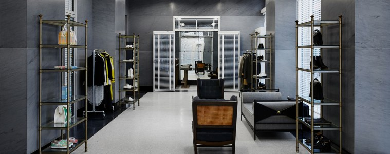 THOM BROWNE FIRST AMERICAN WOMEN'S FLAGSHIP STORE IN NEW YORK