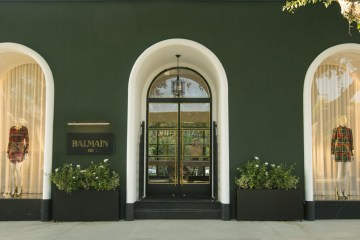 BALMAIN FLAGSHIP STORE IN LOS ANGELES