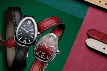 BULGARI SERPENTI CUSTOMIZABLE WATCH COLLECTION FILM