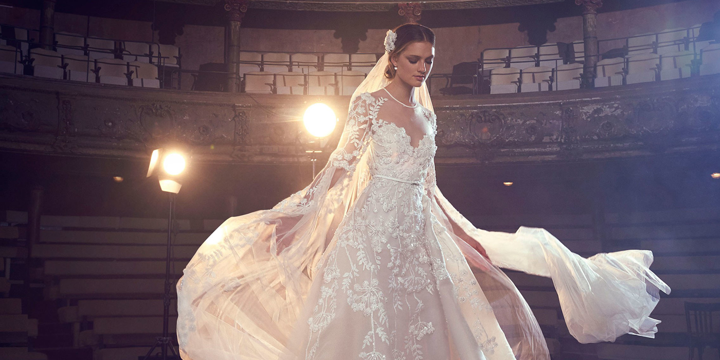 Elie Saab Fall 2018 Bridal Collection LES FAONS