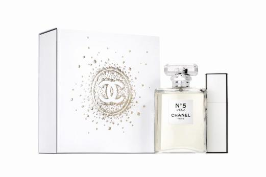 CHANEL NO. 5 L'EAU HOLIDAY 2017 FRAGRANCE COLLECTION 1