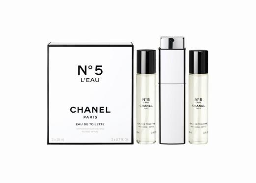CHANEL NO. 5 L'EAU HOLIDAY 2017 FRAGRANCE COLLECTION 2