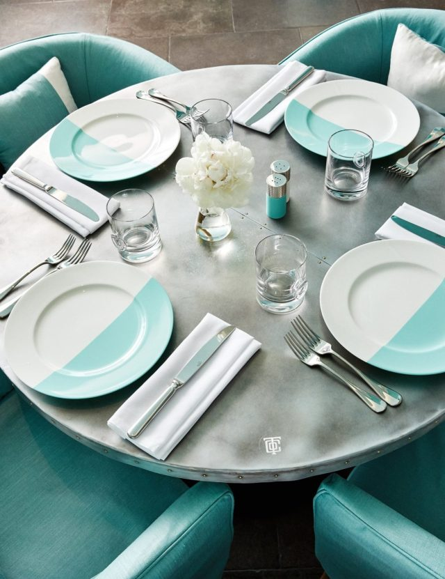 TIFFANY & CO. BLUE BOX CAFE IN NEW YORK