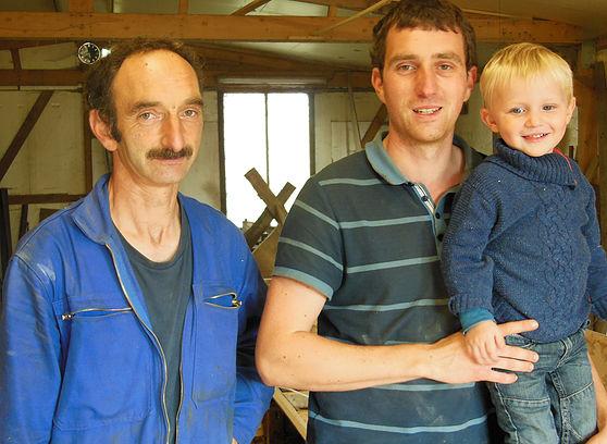 Faiseurs de bateaux: une tradition familiale