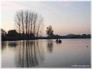 Le marais de Saint-Omer l'hivers