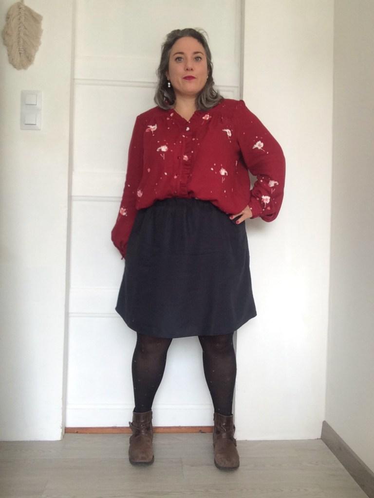 la blouse Wendy et la jupe Dressed