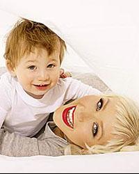 Christina Aguilera et son bébé