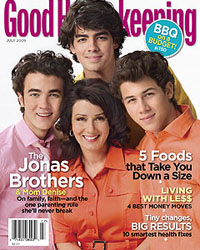 Les Jonas Brothers et leur maman
