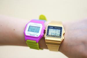 Montres Casio et Timelex