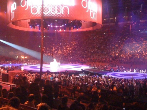Britney à Bercy