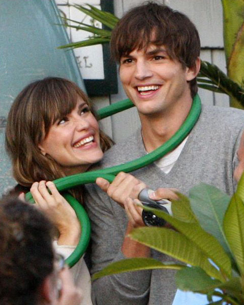 Jennifer Garner et Ashton Kutcher