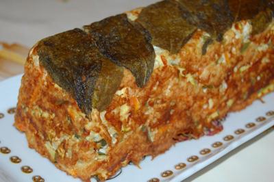 Terrine de légumes au quinoa et ricotta