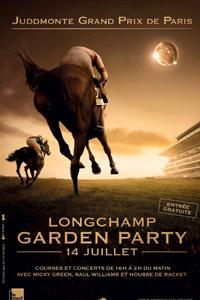 Garden Party du 14 juillet à l'hippodrome de Longchamp