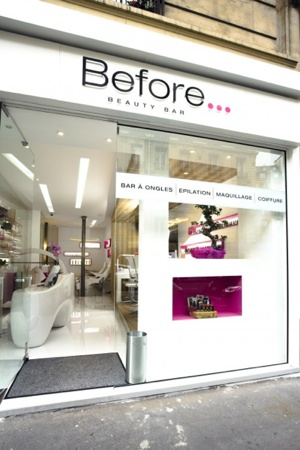 Before beauty bar
