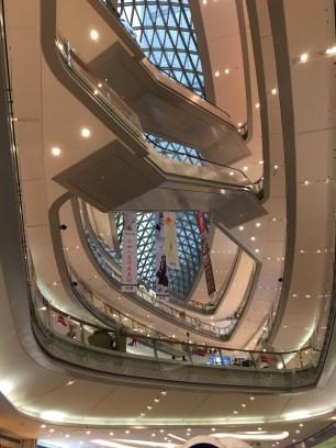 Un grand ... Shopping mall