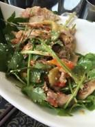Salade mangue / coriandre...