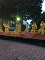 Spectacle de danse indienne dans notre residence