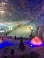 Oui , on peut skier à Shenzhen par 40 º...