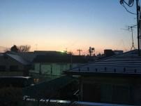coucher de soleil ... à 18h30
