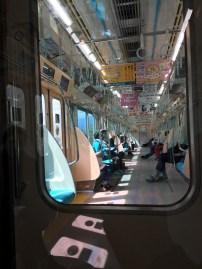 les rames de métro sont looonnngggguuueeesss