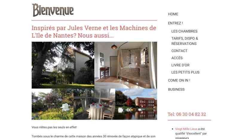 Vingt-Mille Lieux : Chambres d'hôtes près de Nantes