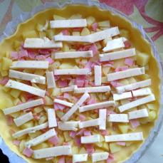 les foodeuses, recette, quiche, raclette