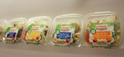Daunat, les foodeuses, daunature, salade, sandwich