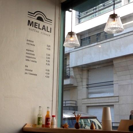 Melali Coffee Riders, les foodeuses, coffeeshop, paris, montmartre, café belleville