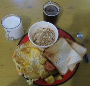 Heavy set breakfast