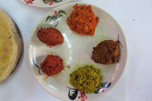 Pâtes de curry