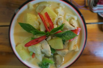 Pineapple Red Curry
