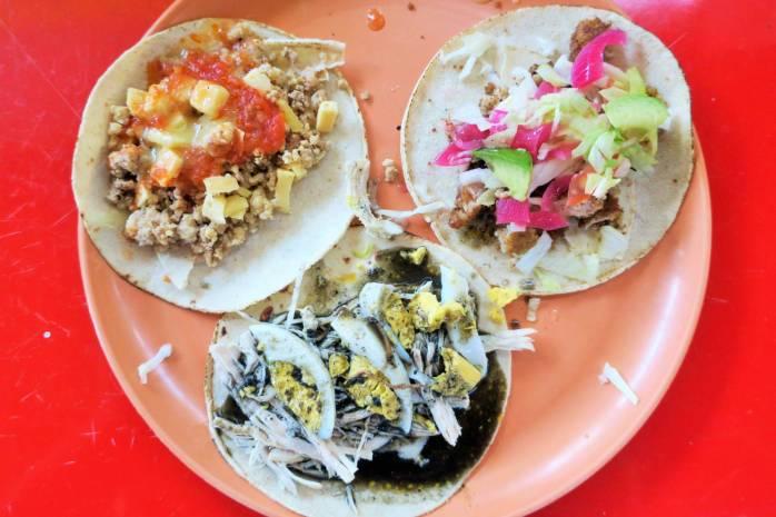 Assortiment de tacos