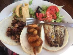 Tacos aux fruits de mer